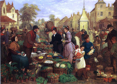 Market Day by Henry Charles Bryant